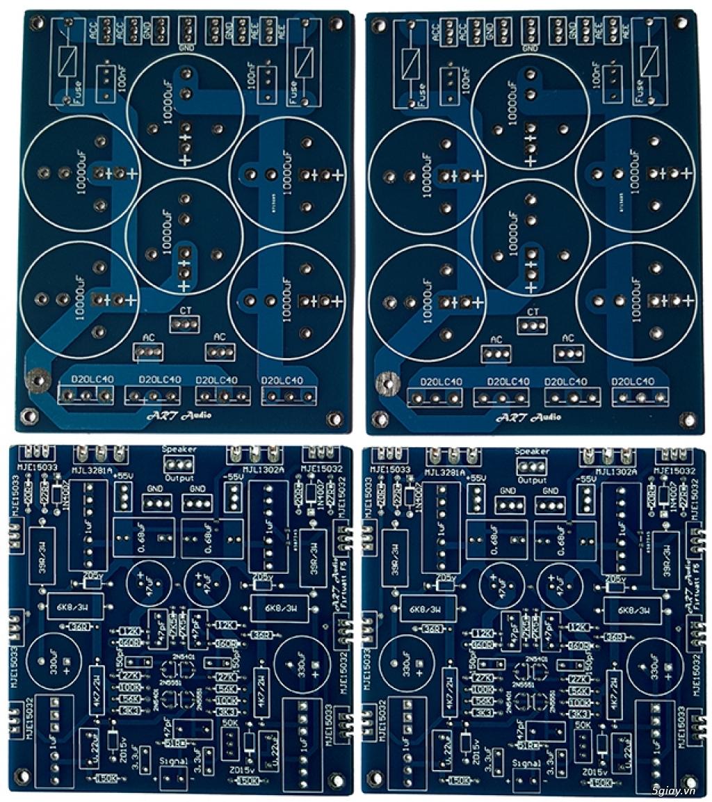 Linh kiện điện tử, PCB và DIY kit cho High-end Audio . ART Audio - 11