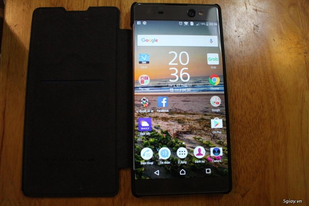 Sony Xperia XA-Ultra màu đen - 4