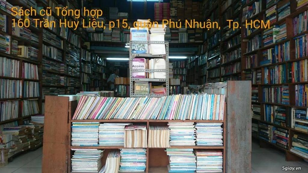 CỬA HÀNG SÁCH CŨ TỔNG HỢP -160 Trần Huy Liệu, p15, quận PN - 3
