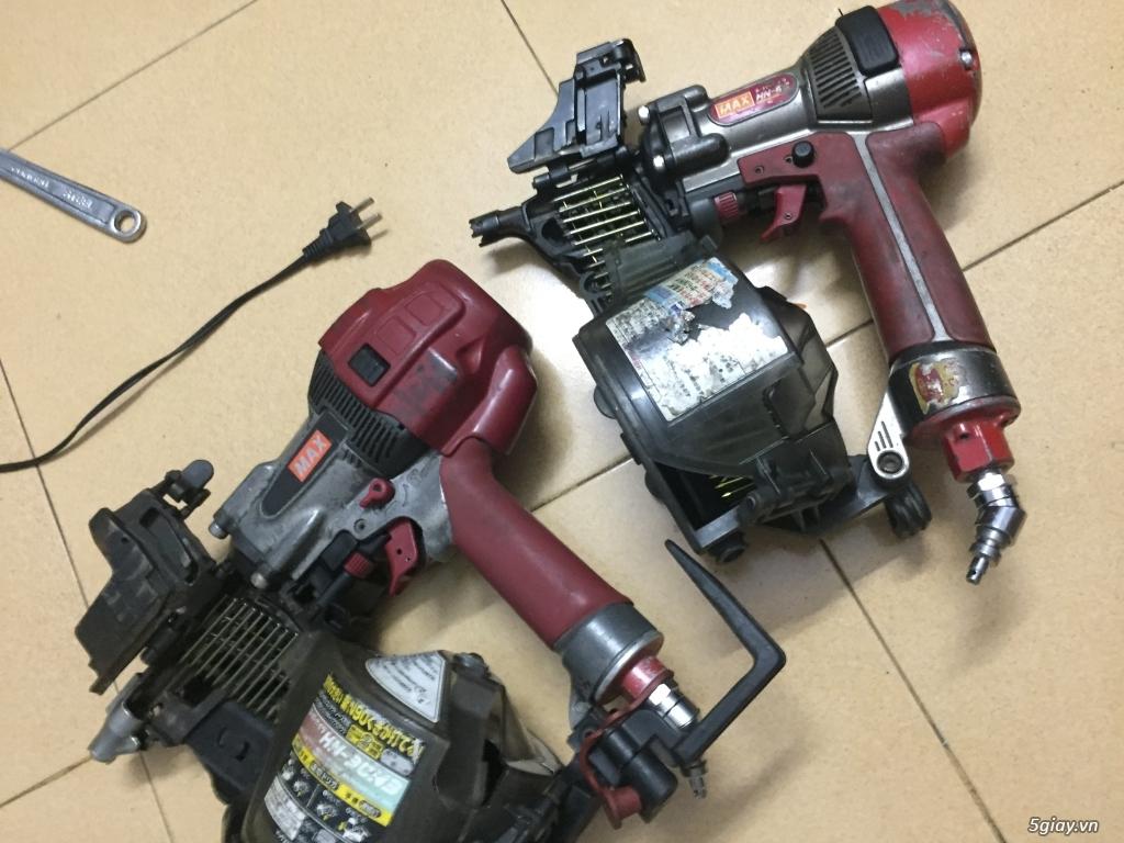 Máy bắn đinh bằng bình khí nén Mã made in japan