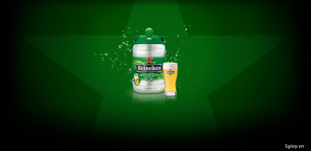 Bom Bia Heineken nhập khẩu Hà Lan - Quà tặng Sang chảnh Giá Sỉ rất tốt - 12