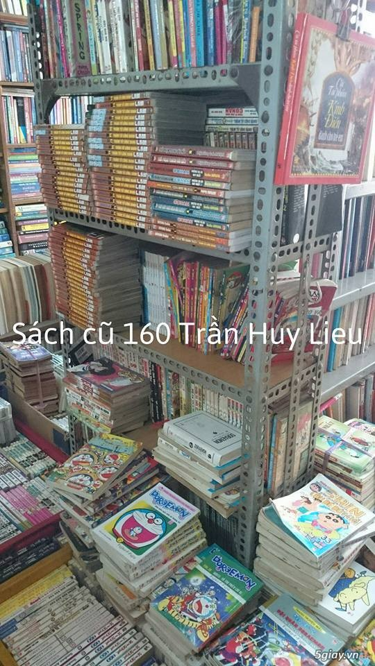 CỬA HÀNG SÁCH CŨ TỔNG HỢP -160 Trần Huy Liệu, p15, quận PN - 4