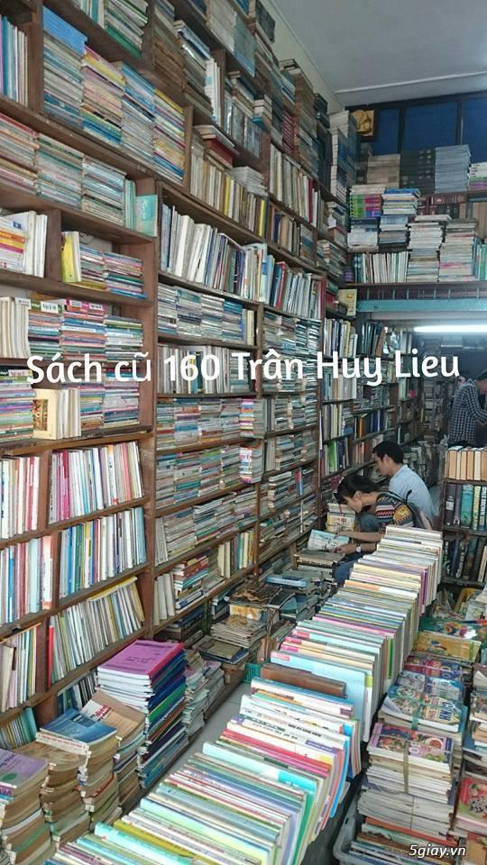 CỬA HÀNG SÁCH CŨ TỔNG HỢP -160 Trần Huy Liệu, p15, quận PN - 5