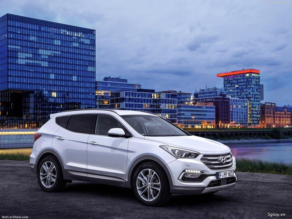 Hyundai SantaFe - Hyundai Bình Dương
