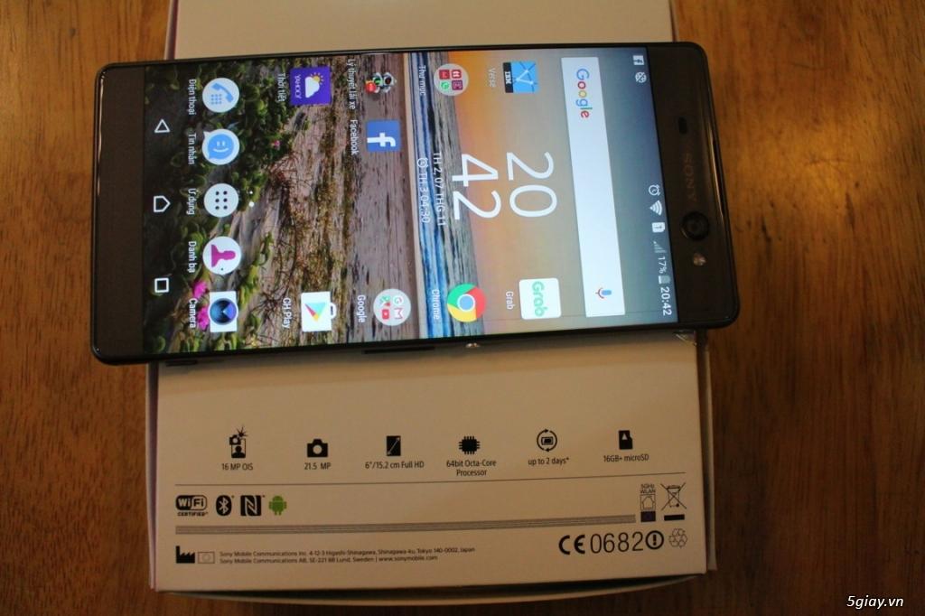 Sony Xperia XA-Ultra màu đen - 2