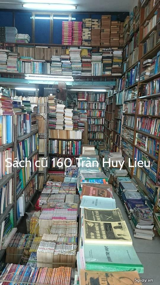 CỬA HÀNG SÁCH CŨ TỔNG HỢP -160 Trần Huy Liệu, p15, quận PN - 1