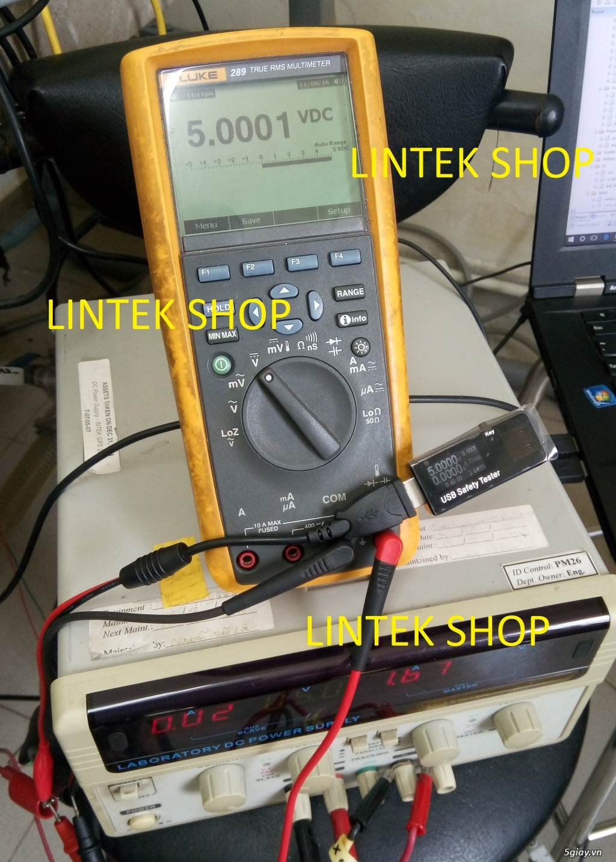 Bộ USB test đo dòng sạc điện thoại, kiểm tra pin sạc dự phòng, cục sạc - 1