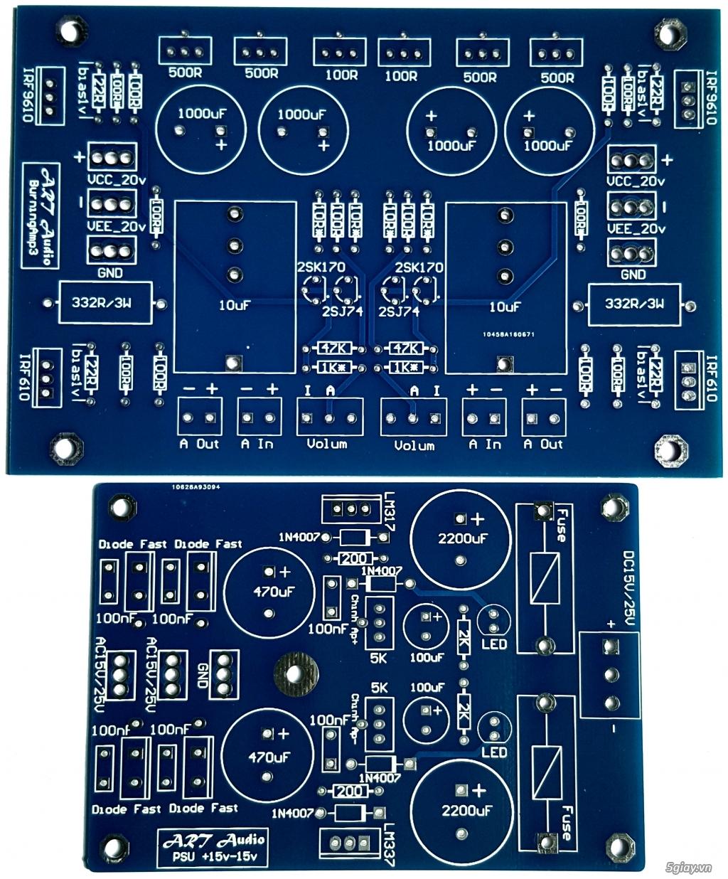 Linh kiện điện tử, PCB và DIY kit cho High-end Audio . ART Audio - 23