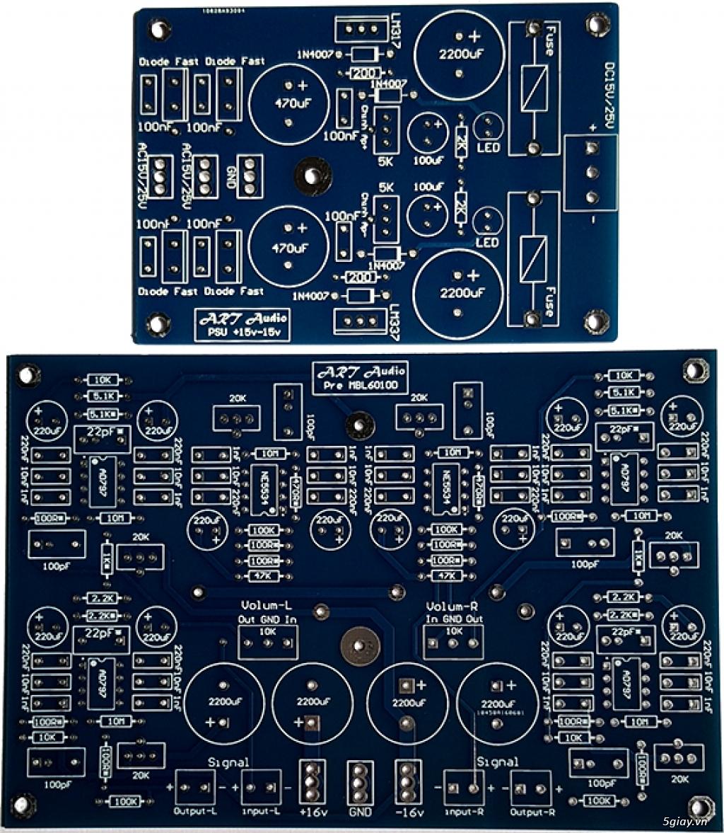 Linh kiện điện tử, PCB và DIY kit cho High-end Audio . ART Audio - 21
