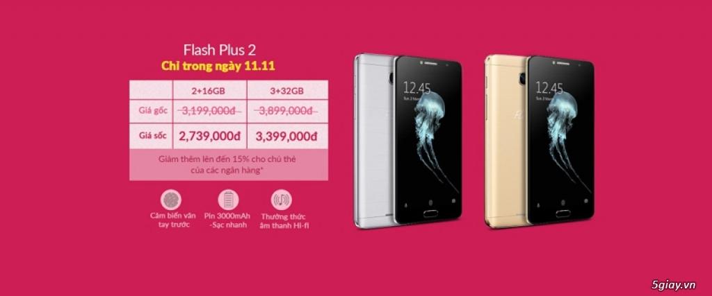 Đến lượt smartphone Flash giảm giá 500K để cạnh tranh - 152537