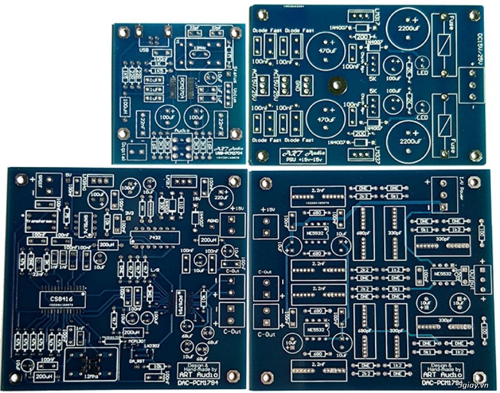Linh kiện điện tử, PCB và DIY kit cho High-end Audio . ART Audio - 17