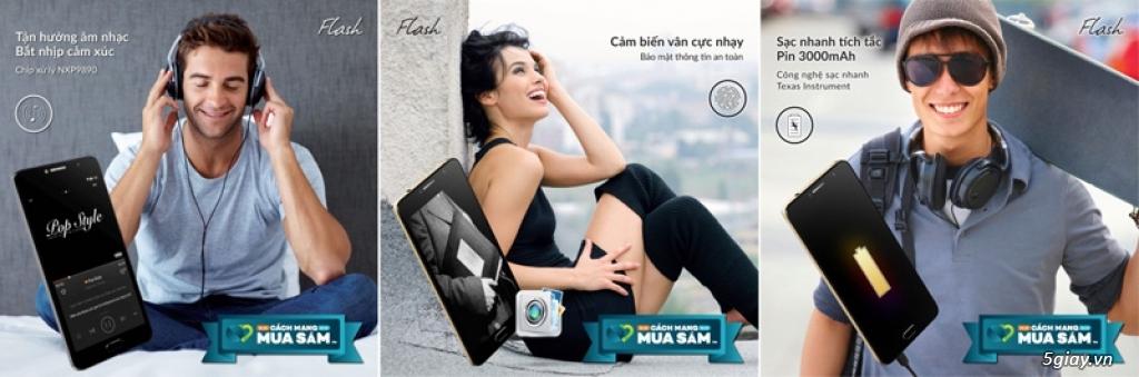 Đến lượt smartphone Flash giảm giá 500K để cạnh tranh - 152538