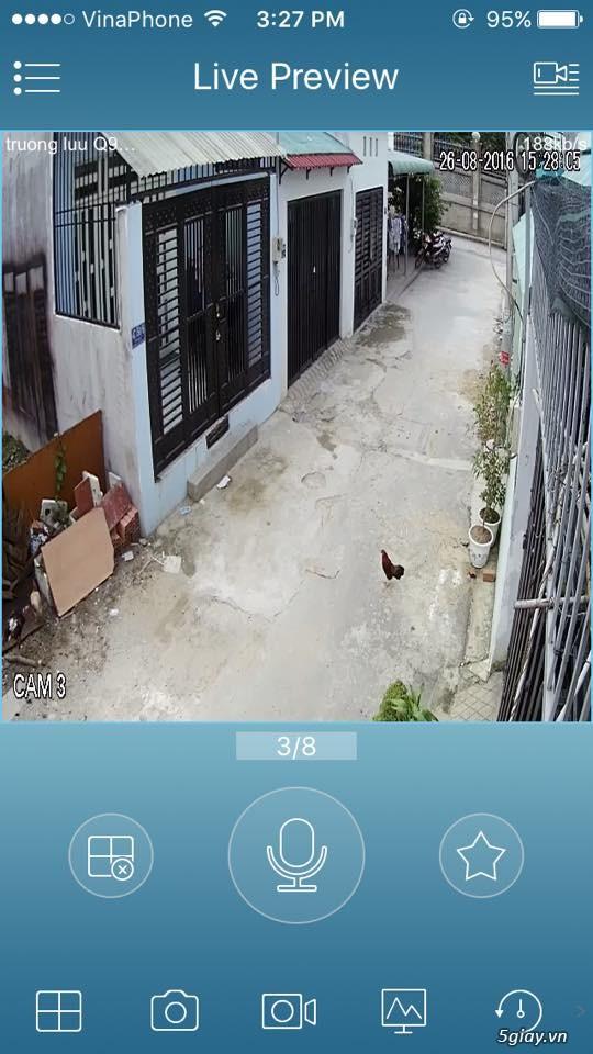 trọn bộ 4 camera HD 3.800.000 đ - 4