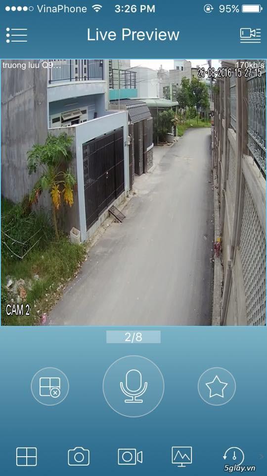 trọn bộ 4 camera HD 3.800.000 đ - 3