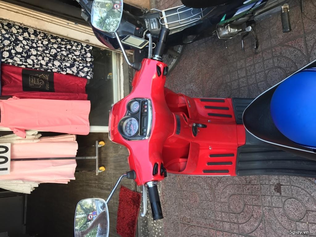 Bán xe Vespa S125 màu đỏ, nữ xài kỹ