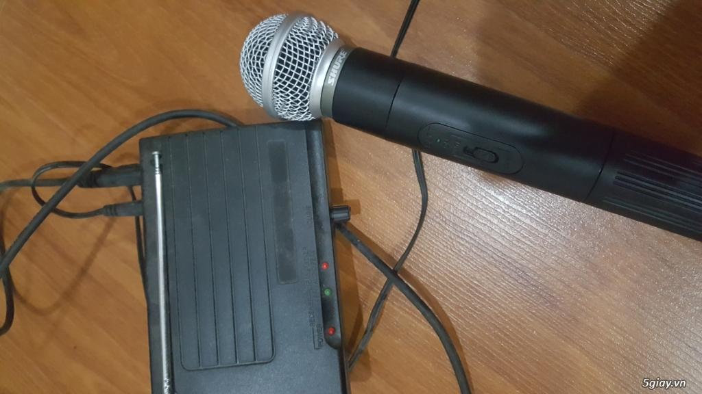 Thanh lý dàn DVD karaoke California, Amply Order,micro không dây Shure - 4