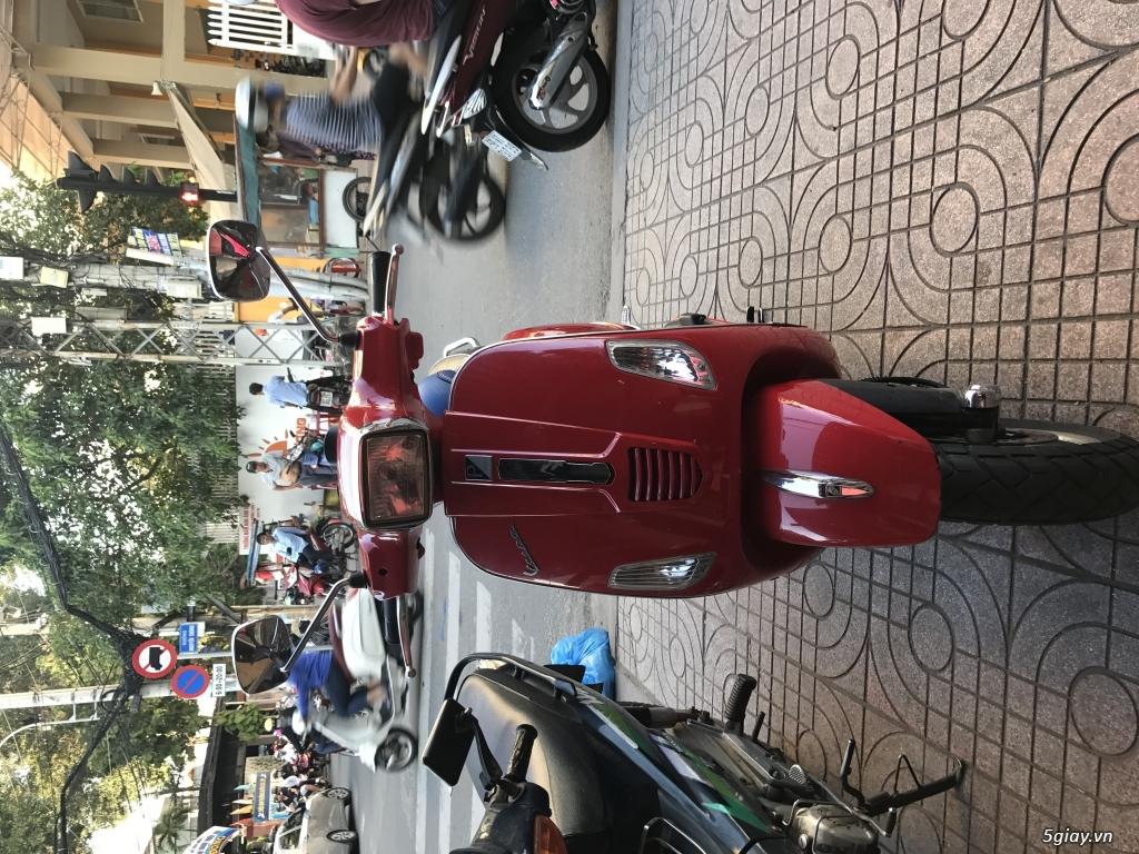 Bán xe Vespa S125 màu đỏ, nữ xài kỹ - 4