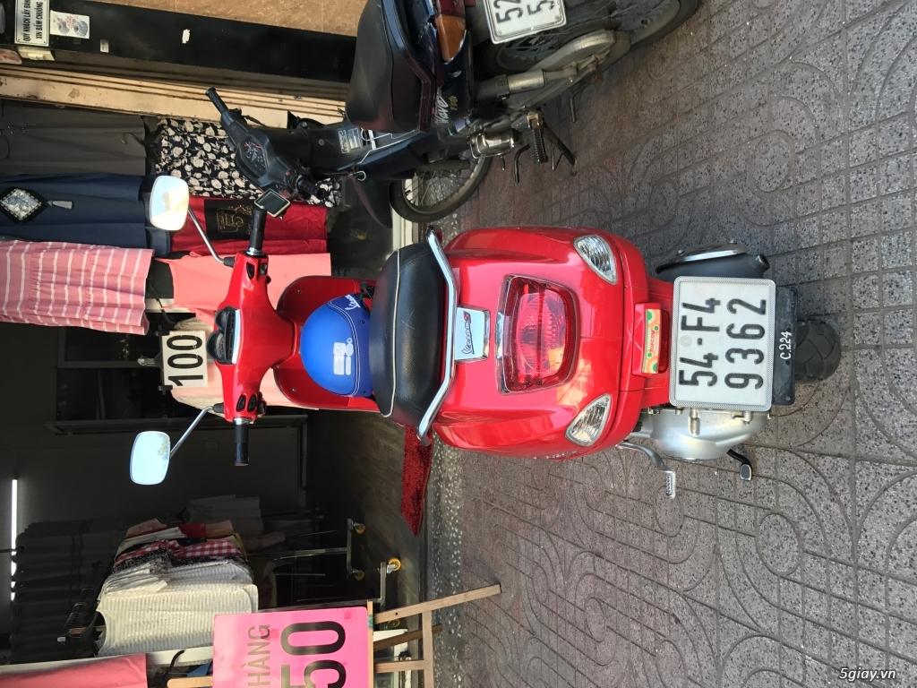 Bán xe Vespa S125 màu đỏ, nữ xài kỹ - 1
