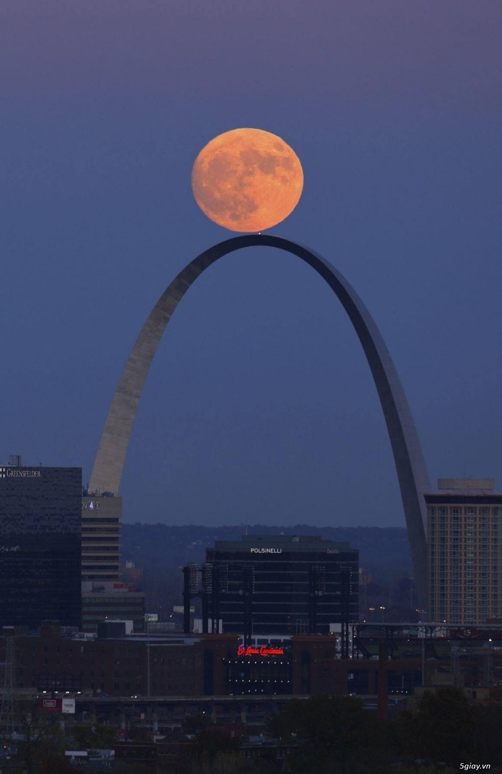 Khoe hình siêu trăng hôm qua