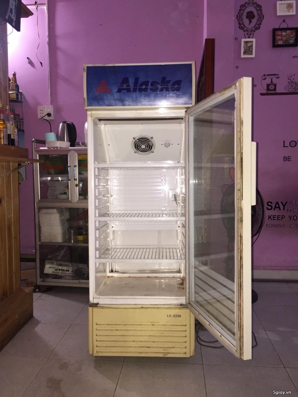 Thanh lí tủ mát Alaska 200L