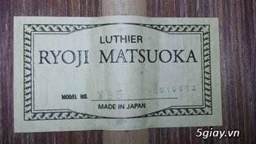 Matsouka guitar M 30, M 40, M50, M60N, M 85 có EQ - 15