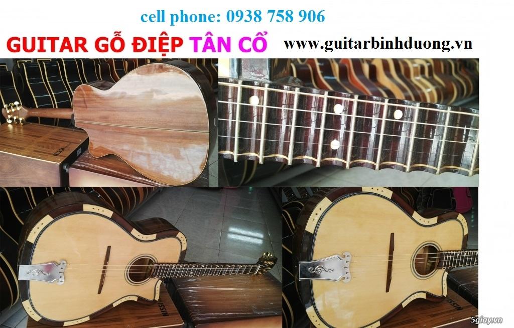 bán đàn Guitar Cổ Thùng giá rẻ từ 490k tại cửa hàng nhạc cụ Bình Dương - 24