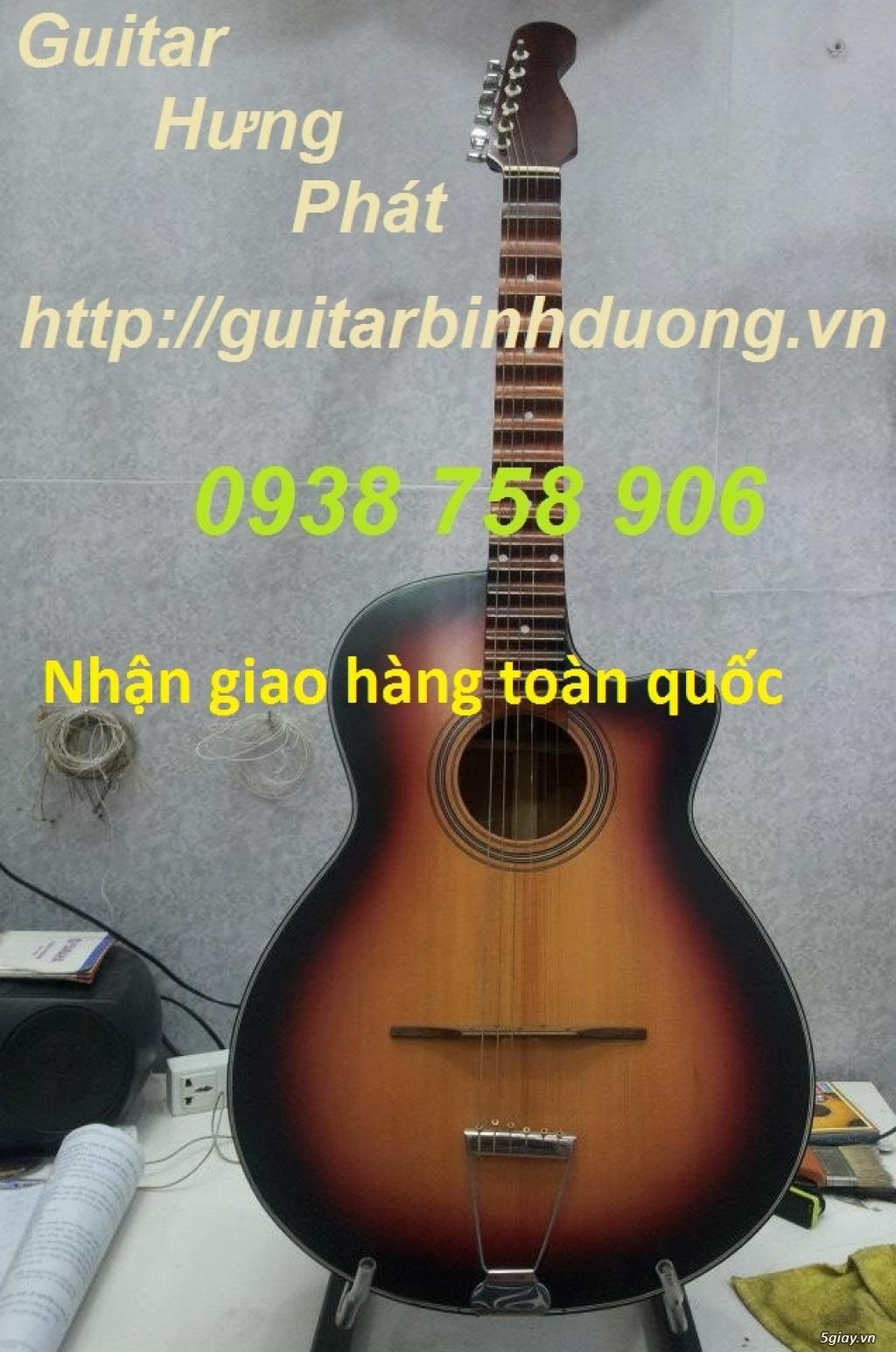 bán đàn Guitar Cổ Thùng giá rẻ từ 490k tại cửa hàng nhạc cụ Bình Dương - 25