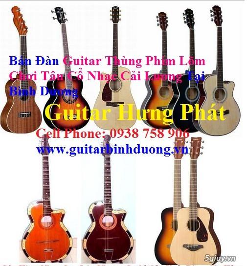 bán đàn Guitar Cổ Thùng giá rẻ từ 490k tại cửa hàng nhạc cụ Bình Dương - 26