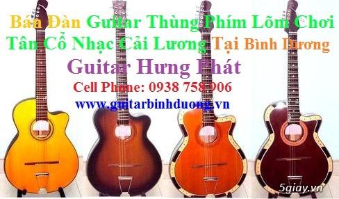 bán đàn Guitar Cổ Thùng giá rẻ từ 490k tại cửa hàng nhạc cụ Bình Dương - 27