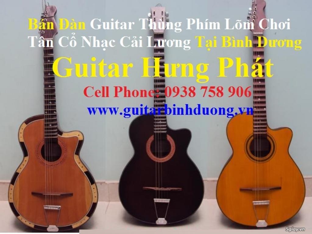 bán đàn Guitar Cổ Thùng giá rẻ từ 490k tại cửa hàng nhạc cụ Bình Dương - 28