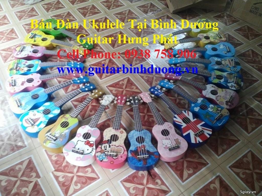 bán đàn Ukulele giá rẻ tại tại cửa hàng nhạc cụ mới Bình Dương - 36