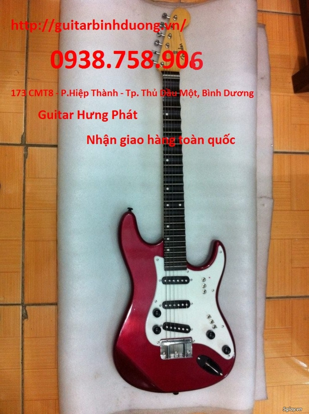 bán đàn Guitar Cổ Thùng giá rẻ từ 490k tại cửa hàng nhạc cụ Bình Dương - 17