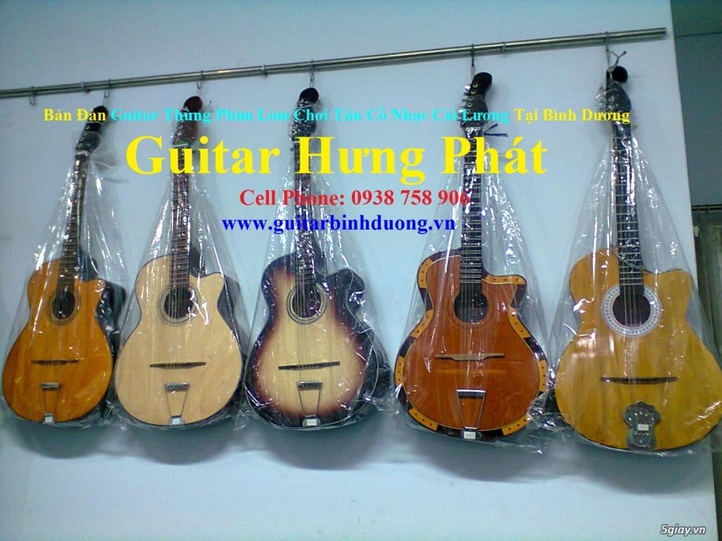bán đàn Guitar Cổ Thùng giá rẻ từ 490k tại cửa hàng nhạc cụ Bình Dương - 30