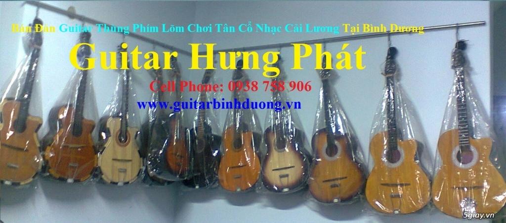 bán đàn Guitar Cổ Thùng giá rẻ từ 490k tại cửa hàng nhạc cụ Bình Dương - 29
