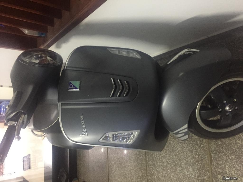 Cần bán Vespa Gts 125 date 08/2015 mới leng keng - 1