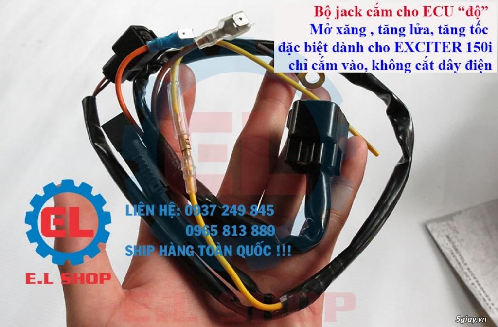 Phụ Tùng độ dàn lửa xe gắn máy: Mobin sườn, dây tăng áp, IC độ - mở giới hạn vòng tua - 4
