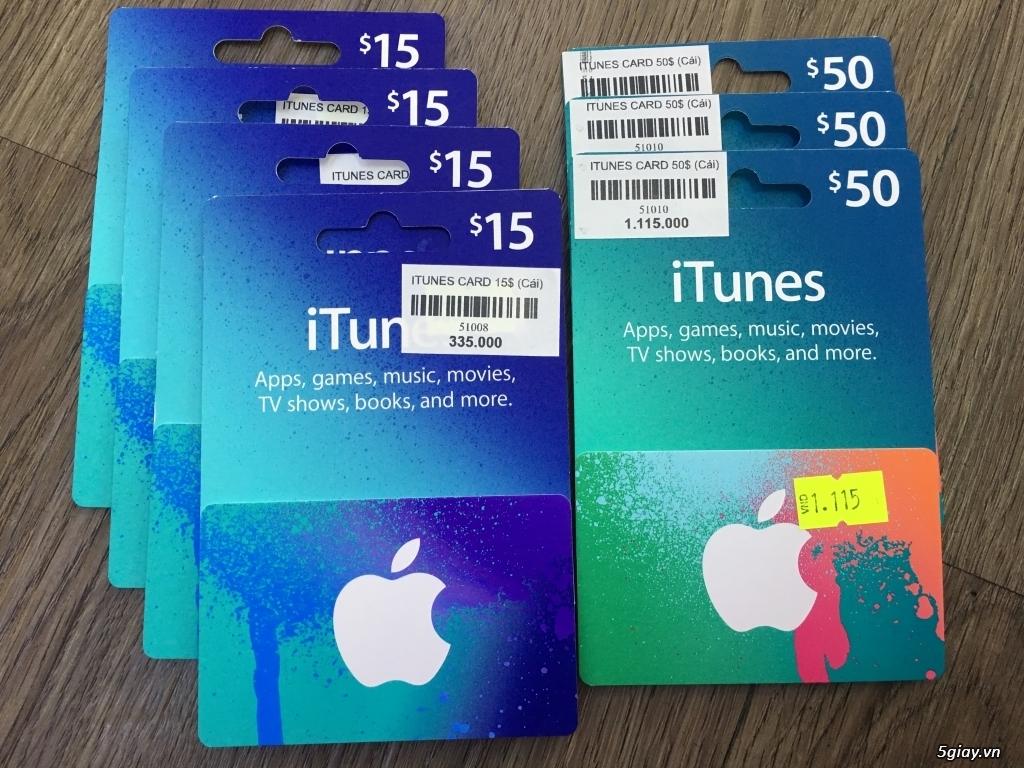Gift Itunes Card MỸ sd mua+ chơi Game và nâng cấp bộ nhớ Icloud cực rẽ - 6