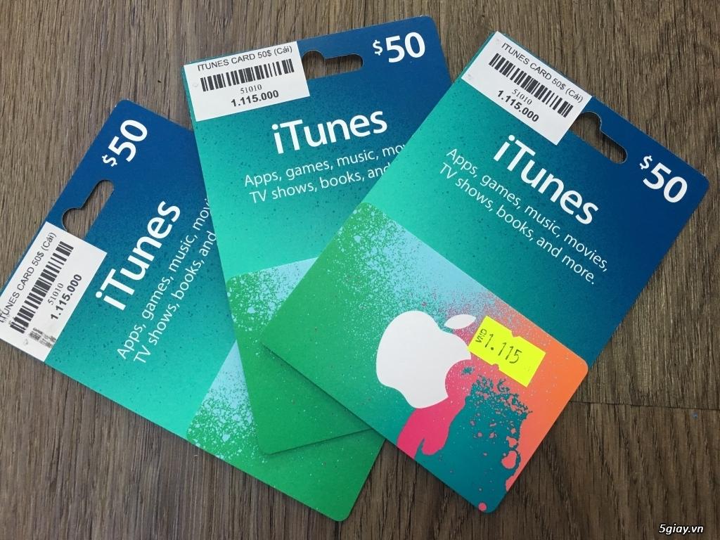 Gift Itunes Card MỸ sd mua+ chơi Game và nâng cấp bộ nhớ Icloud cực rẽ - 5