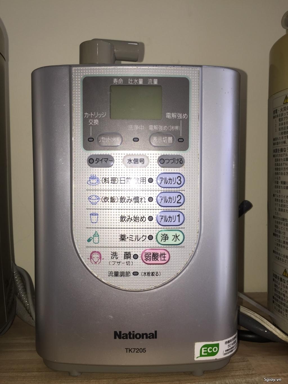 Máy tạo độ PH, lọc nước điện phân ION Kiềm, nước AlKALINE nội địa nhật - 19
