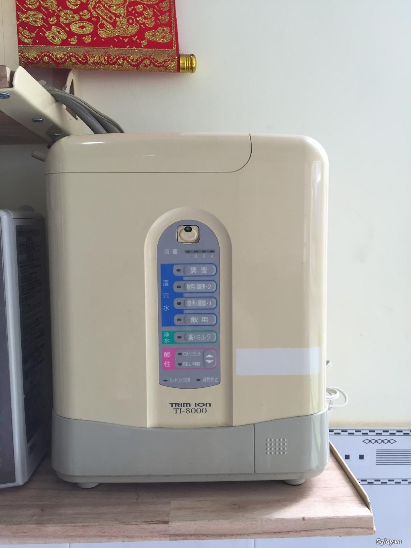 Máy tạo độ PH, lọc nước điện phân ION Kiềm, nước AlKALINE nội địa nhật - 18