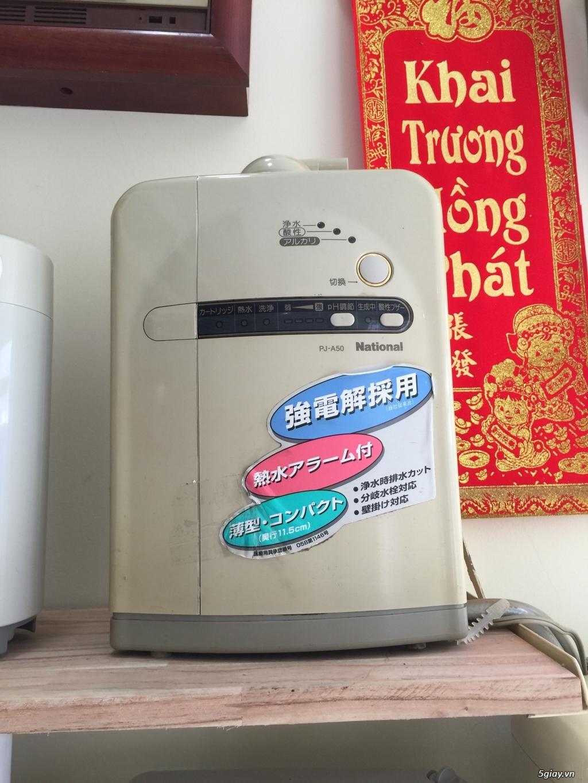 Máy tạo độ PH, lọc nước điện phân ION Kiềm, nước AlKALINE nội địa nhật - 20