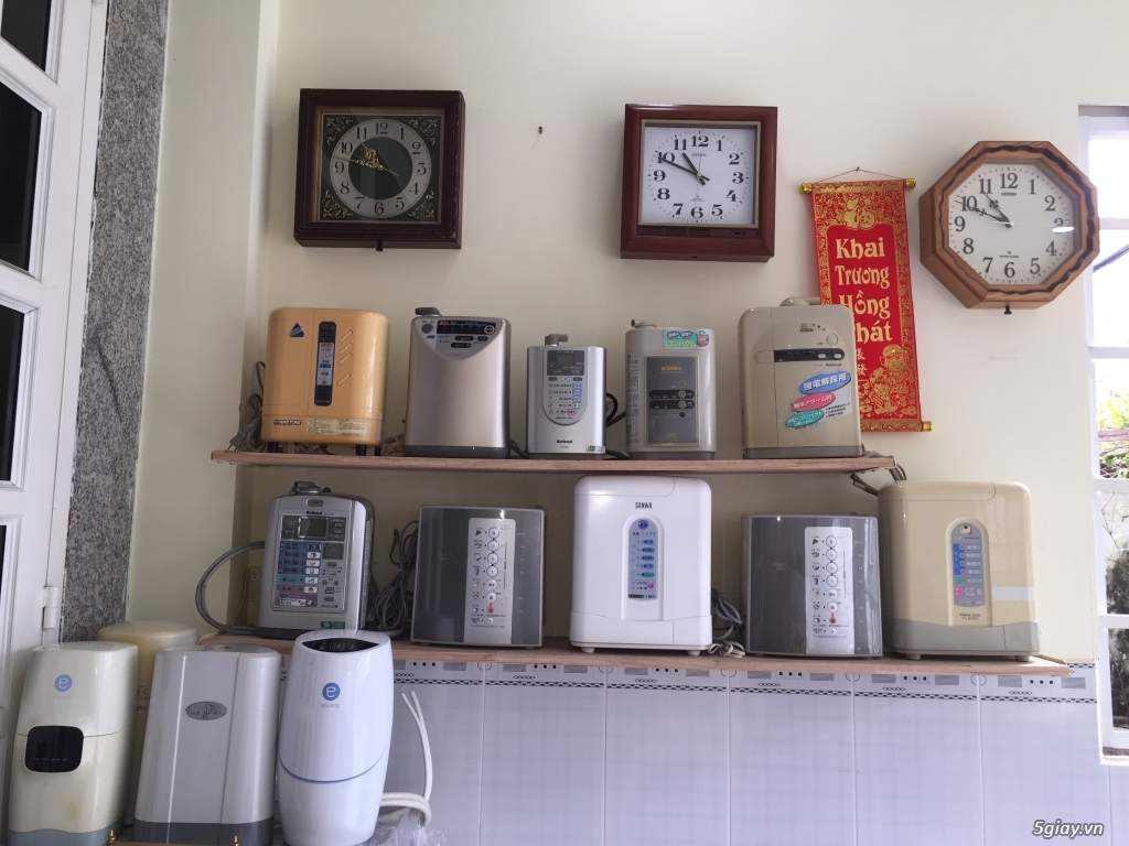 Máy tạo độ PH, lọc nước điện phân ION Kiềm, nước AlKALINE nội địa nhật - 11