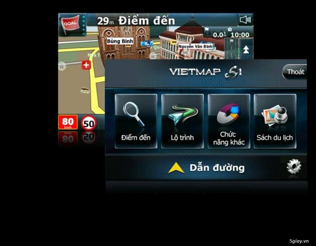Thiết bị gương chiếu hậu 5 trong 1 G68  mới chính hãng VietMap giá tốt - 2