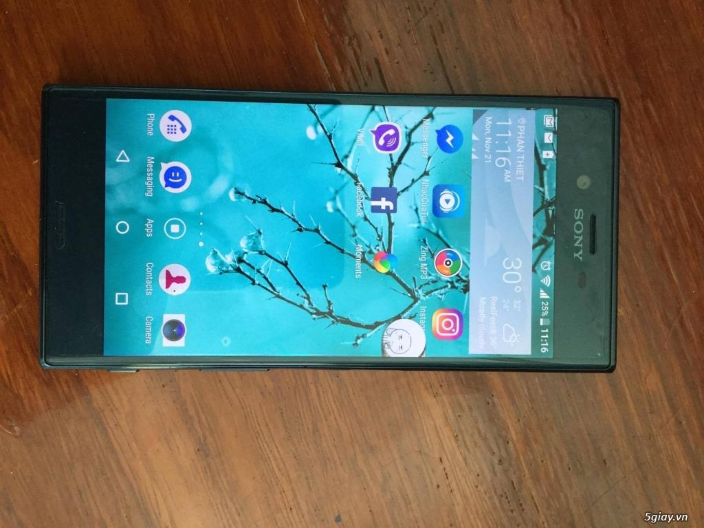[CẦN BÁN] Sony Xperia XZ màu Forest Blue 98% - 4