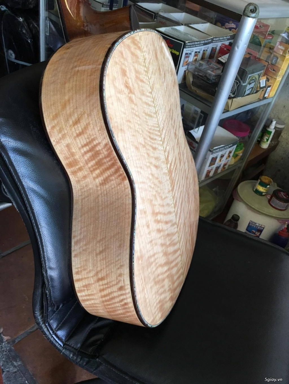 Guitar classic còng cườm dáng đẹp - 1