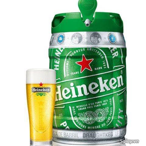 Bia bom Heineken 5l - 42