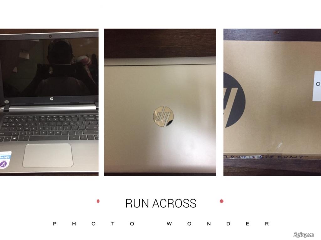 bán Laptop HP Pavilion 14 i3 6100U/4GB/500GB/Win10 like new 99,99%