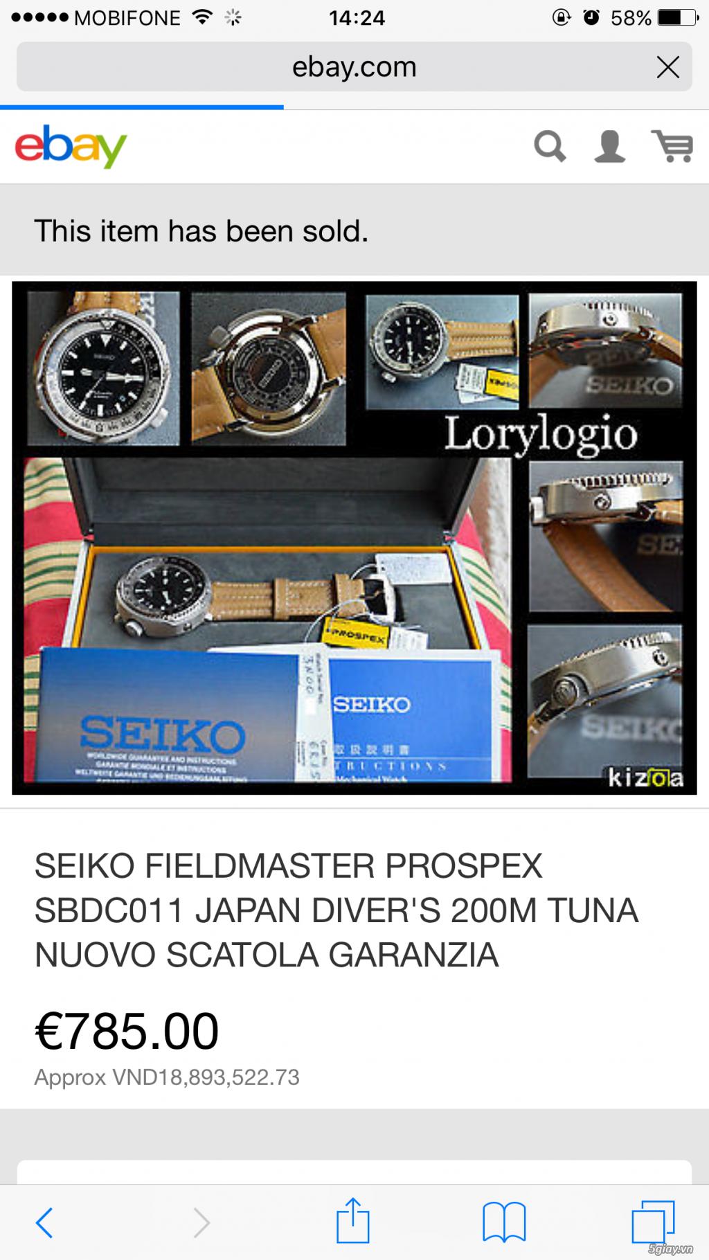 cần bán hai cái đồng hồ xịn giá cực rẻ ... - 7