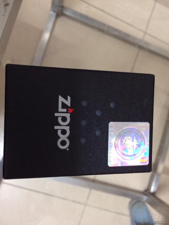 Đồng hồ Zippo hàng hiệu xách tay, tặng bật lửa cá tính - 1