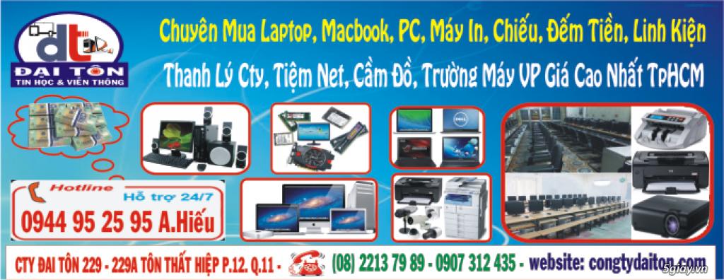 Chuyên Mua PC, Laptop, Macbook, iPhone, iPad, Điện Thoại, Tính Bảng, L.Kiện Gía Cao Nhất 0944952595 - 1